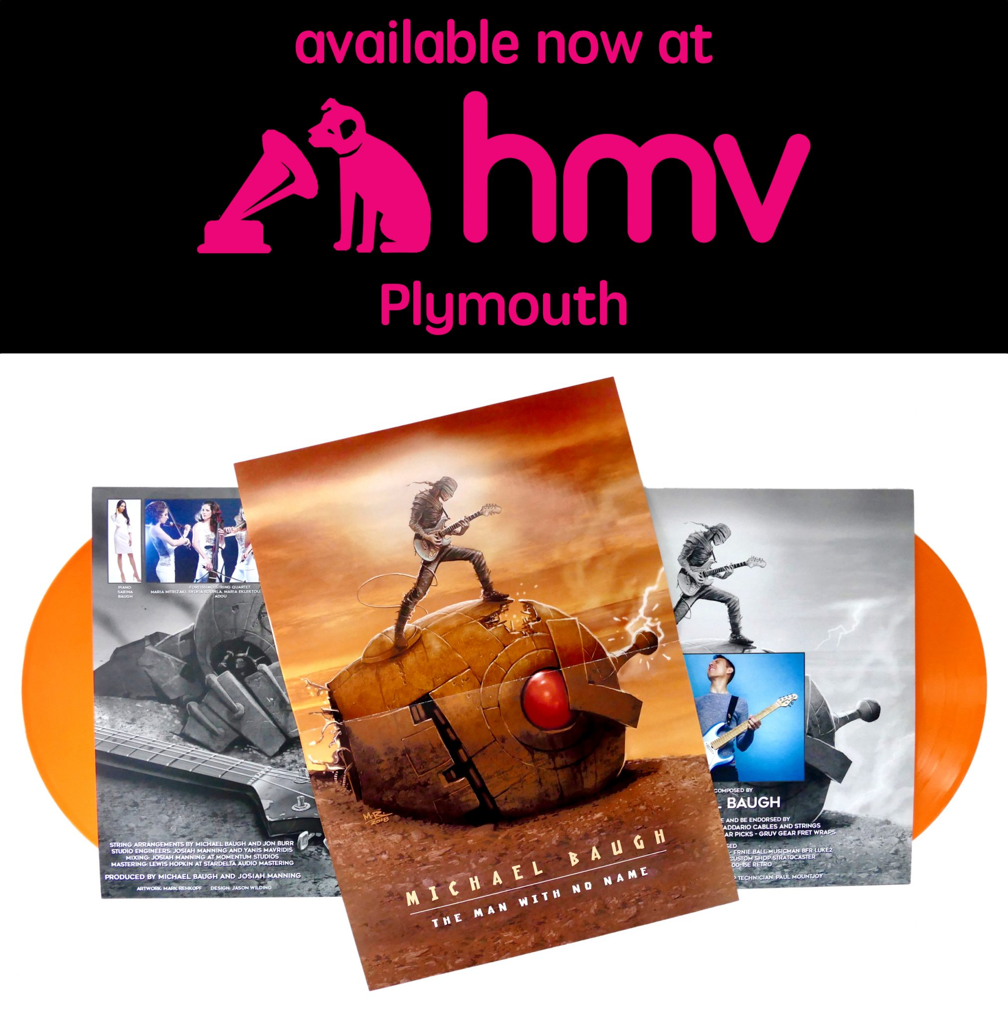 Find My Music in HMV Plymouth!